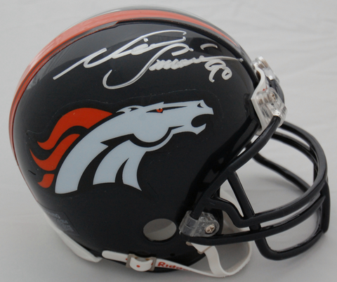Neil Smith Denver Broncos Autographed Mini Helmet