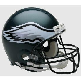 Philadelphia Eagles Authentic Football Helmet