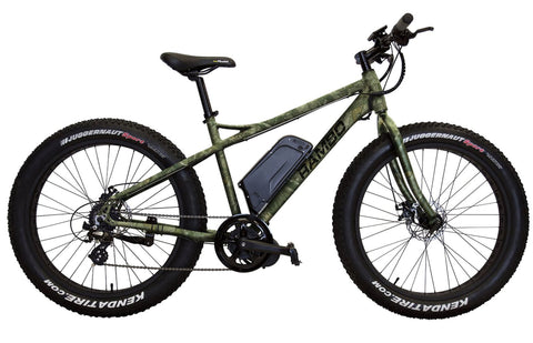 Rambo Motorized Bike Fat Tire Camo