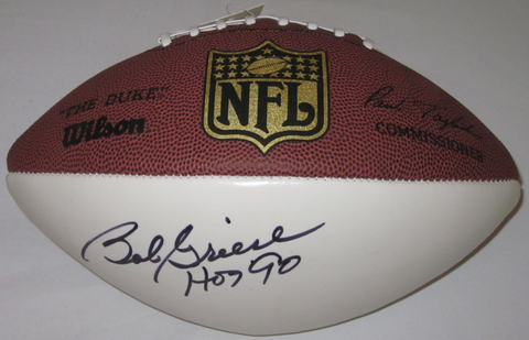 Bob Griese Autographed Football