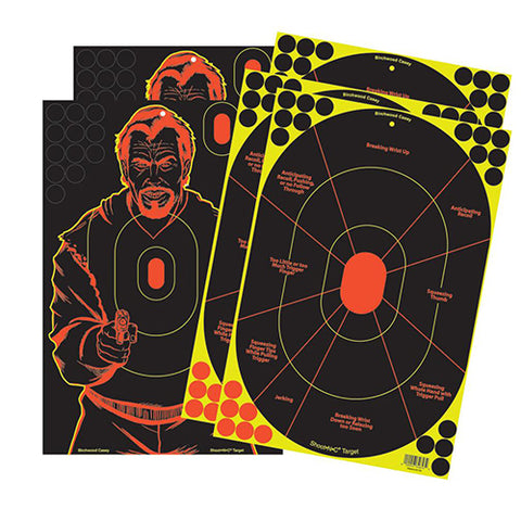 "Shoot-N-C 12""x18"" 3-HT & 2-BGS Tgt-5"