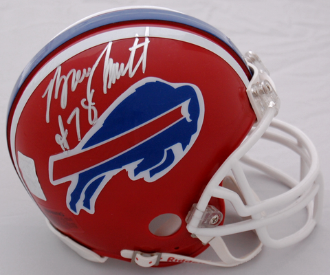 Bruce Smith Buffalo Bills Autographed Mini Helmet