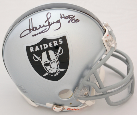 Howie Long Oakland Raiders Autographed Mini Helmet