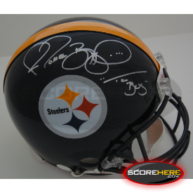 Jerome Bettis Pittsburgh Steelers Autographed Full Size Authentic Helmet