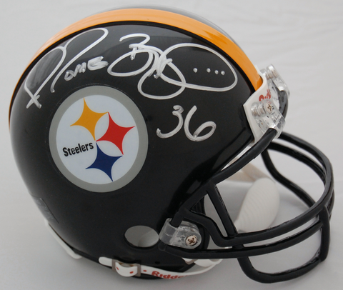 Jerome Bettis Pittsburgh Steelers Autographed Mini Helmet