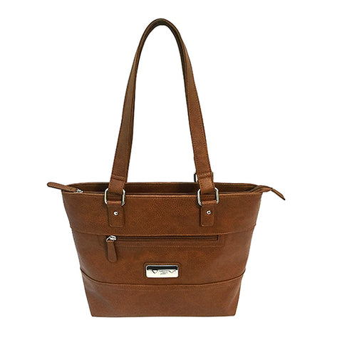 VISM Concealed Carry Tote Bag/Brown