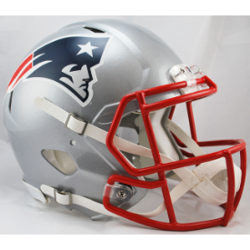 New England Patriots Authentic Speed Football Helmet
