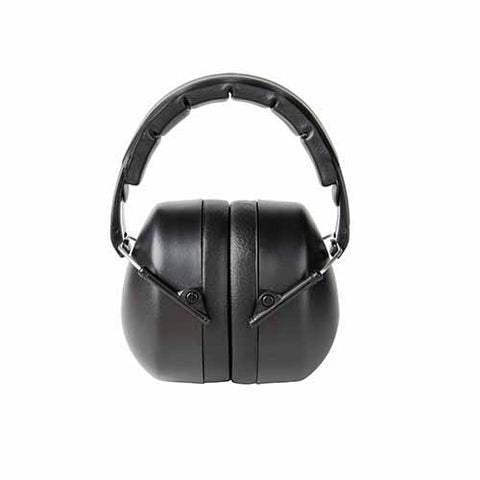 3M Folding Earmuff Black, 1/Pack, 25dB.