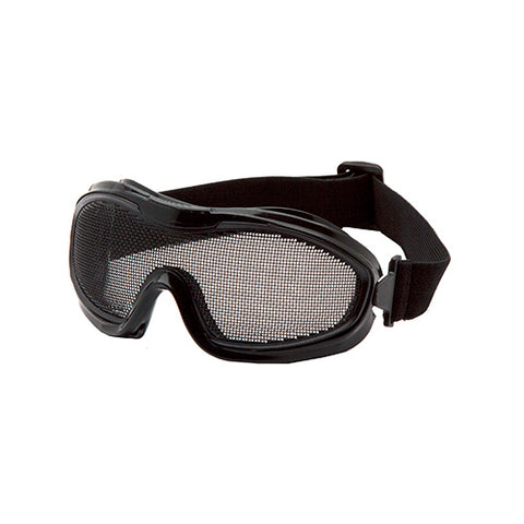 Black Single Wire Mesh Goggle
