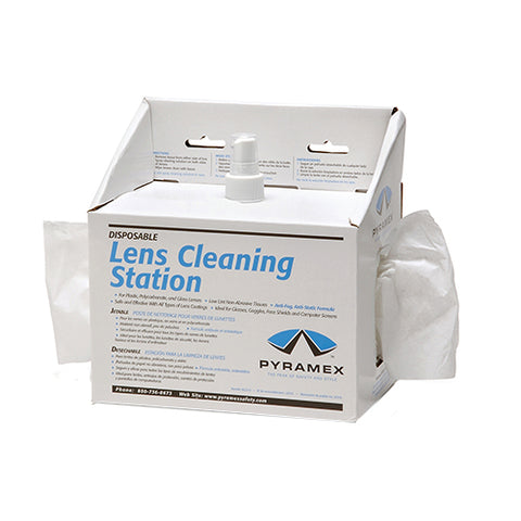Lens Cleaning Station w/8 oz Solution