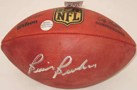 Brian Brohm Buffalo Bills Autographed Football Official NFL