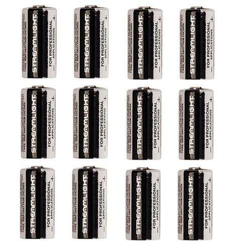 Lithium Batteries 12 pack, CR123A