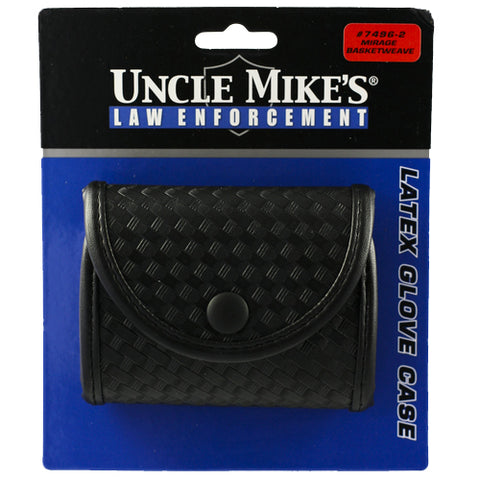 Mirage Double Latex Glove Base Blk Pouch