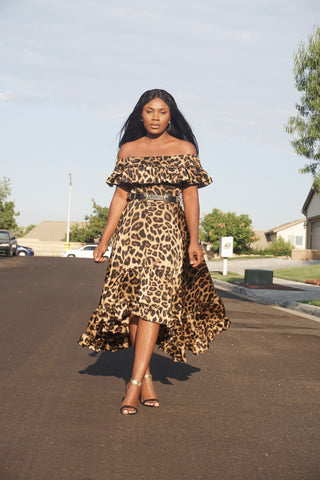 Leopard Obsession Dress