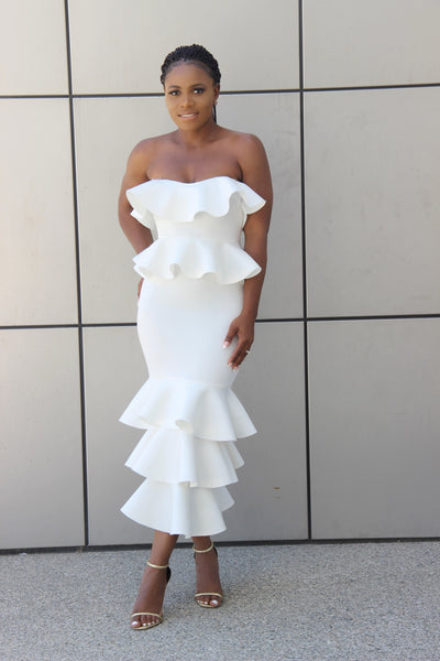 With An Envy Dress (ivory)