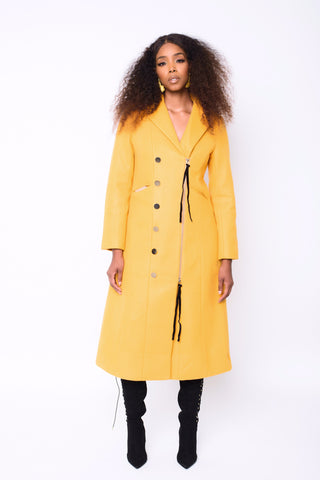 Golden Hour long Coat