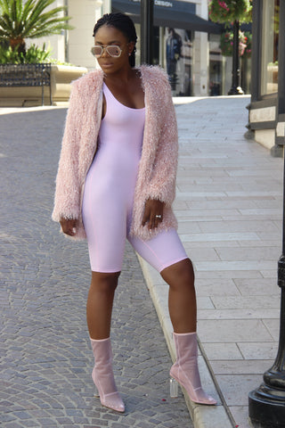 Bundle Up Coat (Pink)