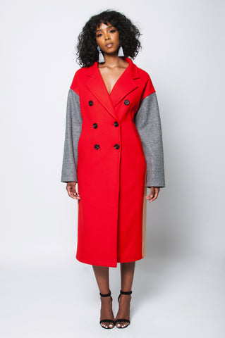 Trio Coat (Red)