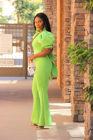 Viva Jumpsuit (Lime)