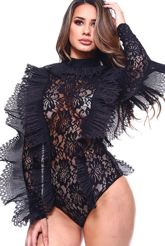 Bey Bodysuit (Black)