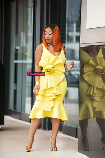 Kimmy Dress(Yellow)