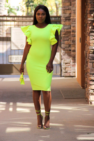 Neon Fantasy Dress