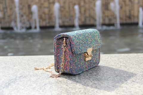 Glitterati mini purse (Multi)