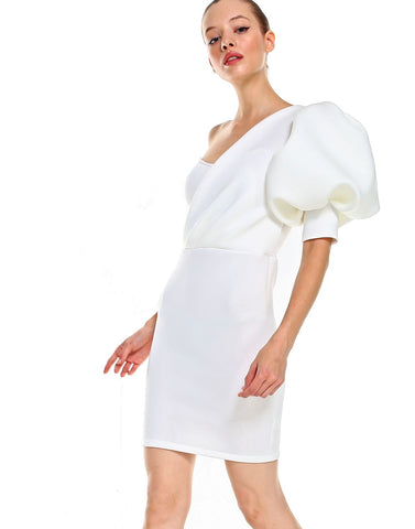 Betty Mini Dress(ivory)