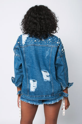 The Pearly Denim Jacket