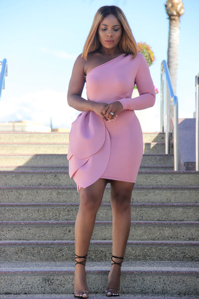 Sade Dress (Blush)