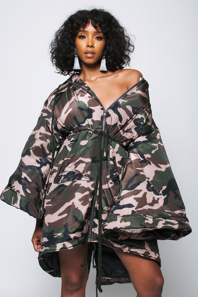 Camo Ultra Light Jacket