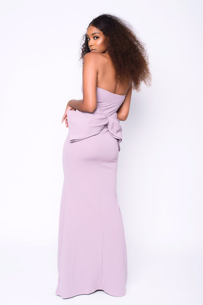 Put A Bow On It Gown | Mauve