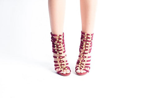 Roped Gladiator Heel