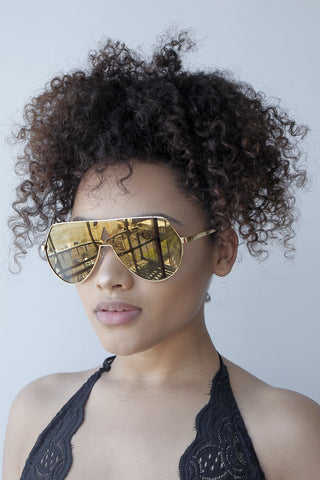 No Shade Sunglasses (GOLD)