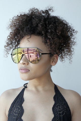 No Shade Sunglasses (IRIDESCENT)