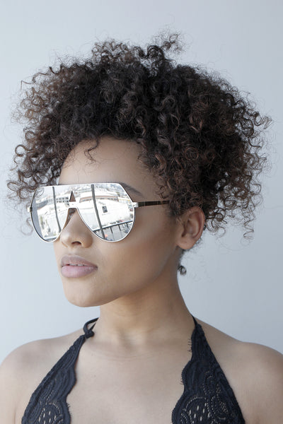 No Shade Sunglasses (SILVER)