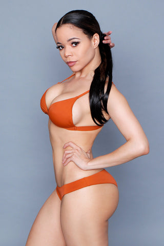 Rust Two Piece Bikini