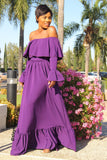Purple Haze Maxi Dress