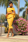 Sunny Side Midi Dress