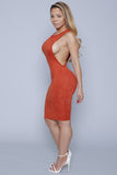 Darer OrangeRed Dress