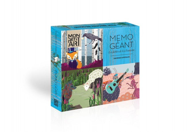 Giant Memo-The fables of La Fontaine