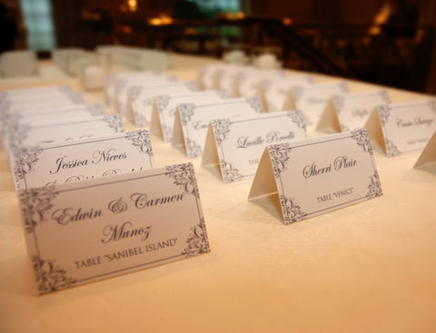 Diy Vintage Place Card Idea