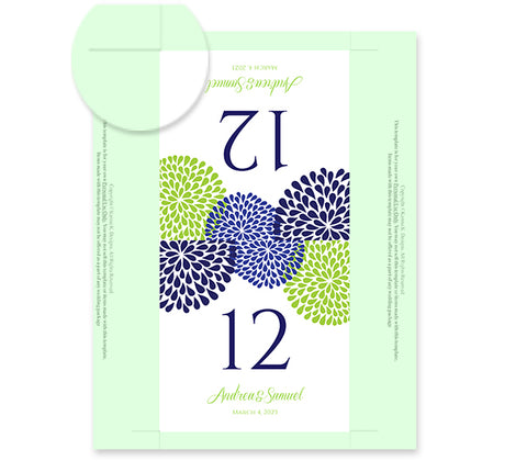 Table Number Tent Templates Pasoevolistco - Table number template