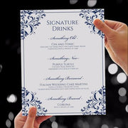 wedding sign template