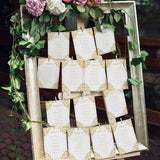 Wedding Seating Chart - Editable text - 5x7