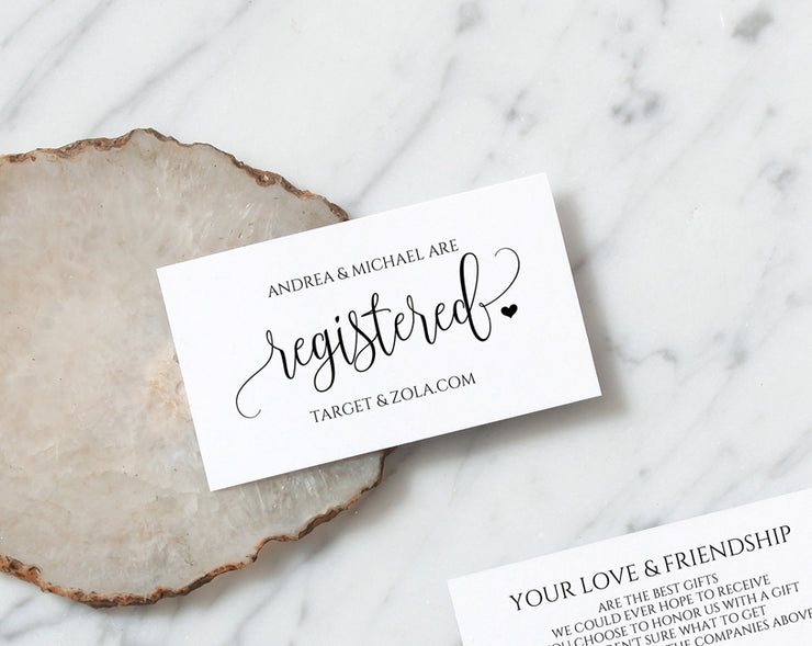 print your own wedding registry cards