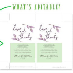 Thank You Card Templates | Flat .