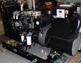 100 kW Diesel Generator with Perkins 1104D Engine