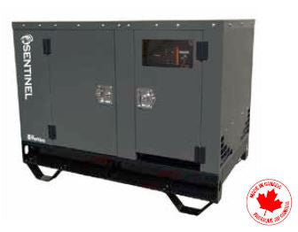 13 kW generator with enclosure