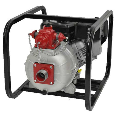 "2"" Two Stage High Pressure / Fire Pump with Roll Cage"